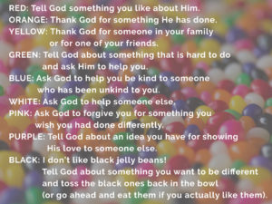 Jelly Bean Prayer Time - Emmanuel Presbyterian Church